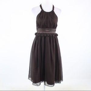 BCBG Paris dark brown dress